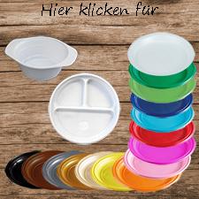 PW-KLAR6565 200 Menü Plastikteller grün transparent quadratisch 65x65 mm PET