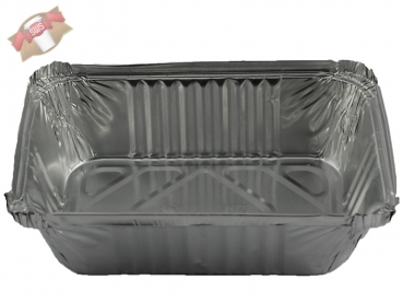 100 Stk. Aluschale Lasagneschale 940 ml 201x136x50 mm