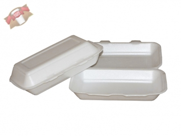 125 Stk. Hot Dog Box Transportbox Hotdogbox beige