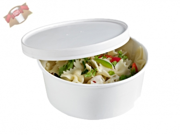 "360 Stk. To Go-Becher Suppe/Salat ""Buckaty"" rund weiß 900 ml"