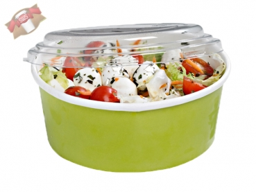 "360 Stk. To Go-Becher Suppe/Salat ""Buckaty"" rund grün 900 ml"