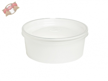 "360 Stk. To Go-Becher Suppe/Salat ""Buckaty"" rund weiß 580 ml"