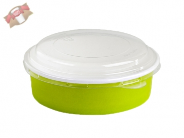 "360 Stk. To Go-Becher Suppe/Salat ""Buckaty"" rund grün 580 ml"
