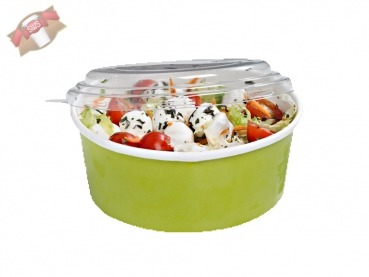 "360 Stk. To Go-Becher Suppe/Salat ""Buckaty"" rund grün 700 ml"