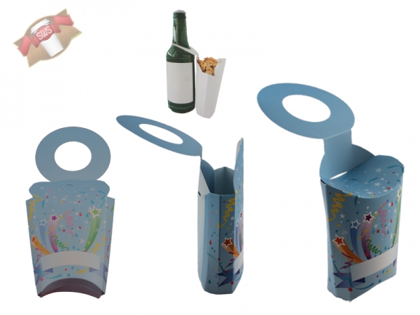 5 Stk. Snackholder Snack Holder - Party Snackhalter für Flaschen