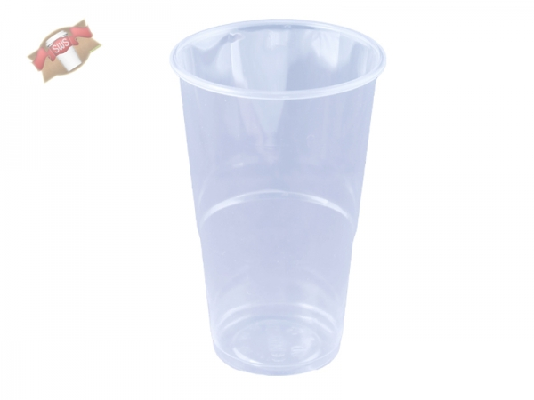 100 Stk. Becher Trinkbecher 250 ml klar PP