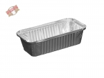 100 Stk. Aluschale Lasagneschale 690 ml 201x105x46 mm R13 L